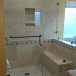 Frameless shower Enclosure in Corona